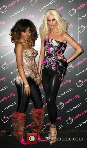 Teyana Taylor, Guest  MAC Cosmetics And V Magazine Celebrate MAC's 'Hello Kitty Collection' at Cedar Lake - Arrivals New...