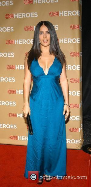 Salma Hayek CNN Heroes: An All-Star Tribute held at the Kodak Theatre - Arrivals Hollywood, California - 22.11.08