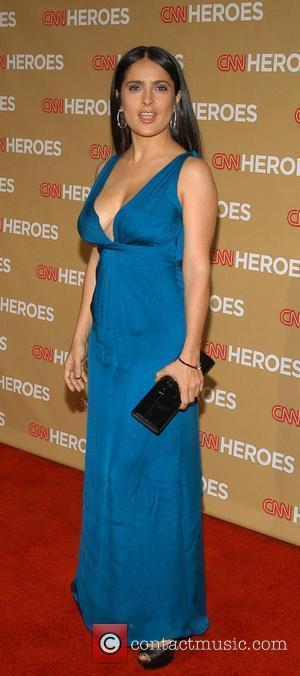 Salma Hayek CNN Heroes: An All-Star Tribute held at the Kodak Theatre - Arrivals Hollywood, California - 22.11.08