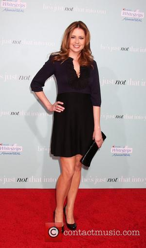 Jenna Fischer attends the Los Angeles Premiere of He's Just Not That Into You' held the Grauman's Chinese Theatre. Hollywood,...
