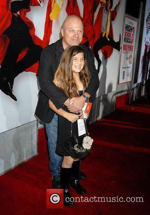Michael Chiklis and daughter The Los Angeles Premiere of 'High School Musical 3: Senior Year' held at the Galen Centre...