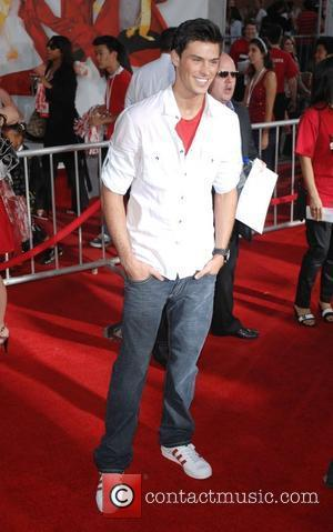 Adam Gregory The Los Angeles Premiere of 'High School Musical 3: Senior Year' held at the Galen Centre - Arrivals...