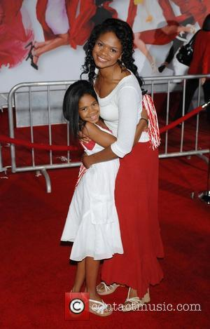 Kimberly Elise and daughter The Los Angeles Premiere of 'High School Musical 3: Senior Year' held at the Galen Centre...