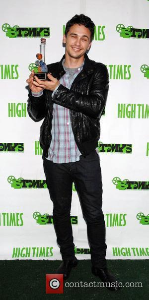 James Franco attends the High Times Magazine '8th Annual Stony Awards' held at Malibu Inn. - arrivals Malibu, USA -...