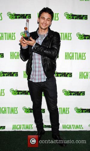 James Franco attends the High Times Magazine '8th Annual Stony Awards' held at Malibu Inn. - arrivals Malibu, USA -...