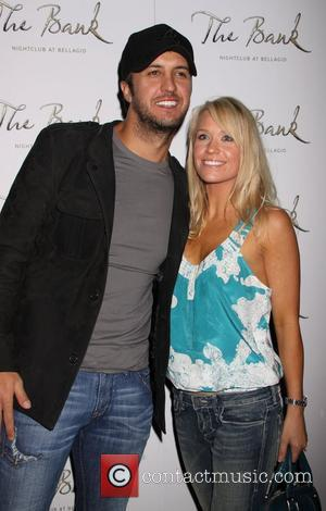 Luke Bryan, Caroline Bryan Hillary Scott Birthday Celebration at 'The Bank' nightclub at the Bellagio Hotel and Casino Las Vegas,...