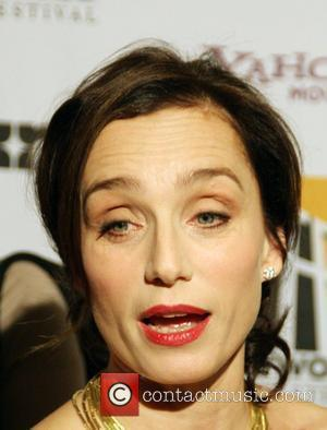Kristin Scott Thomas Hollywood Film Festival Awards 2008 Honoring Clint Eastwood, held at The Beverly Hilton. Beverly Hills, California, USA...