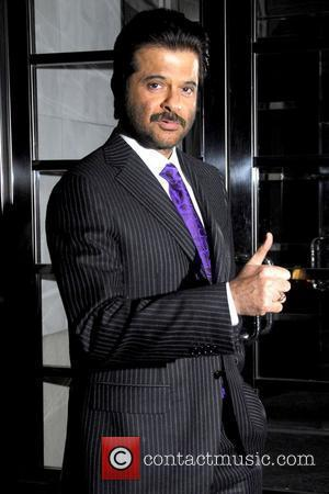 Anil Kapoor outside his Manhattan hotel New York City, USA - 04.02.09