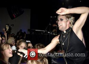 Semi Precious Weapons perform live at 'Haus of Gaga Presents: The Fame Ball' held at the Highline Ballroom New York...