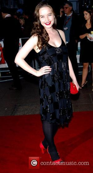 Anna Popplewell, arrives at the UK film Premiere of 'How To Lose Friends And Alienate People' at The Empire Leicester...