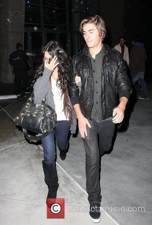 Staples Center, Zac Efron, Vanessa Hudgens