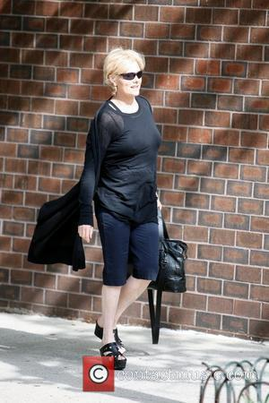 Deborra-Lee Furness meets up with her husband Hugh Jackman in SoHo New York City, USA - 12.05.09