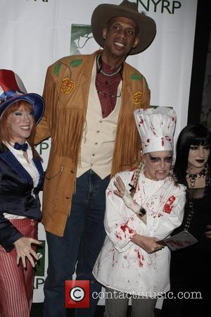Kathy Griffin, Kareem Abdul-Jabbar, Bette Midler and Gloria Estefan 13th Annual Bette Midler's New York Restoration Project's Hulaween gala at...