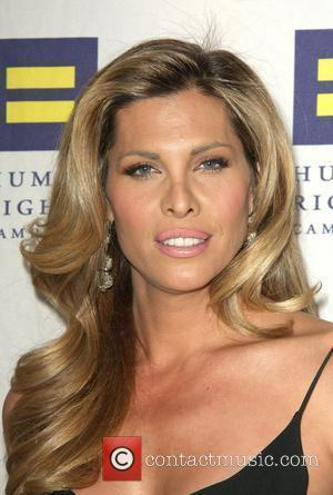 Candis Cayne Human Rights Campaign's annual gala and hero awards held at the Hyatt Regency plaza hotel Los Angeles, California...