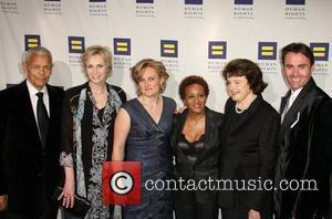 Julian Bond, Jane Lynch, Kelsey Bray, Wanda Sykes, Us Senator Dianne Feinstein and Parker Williams