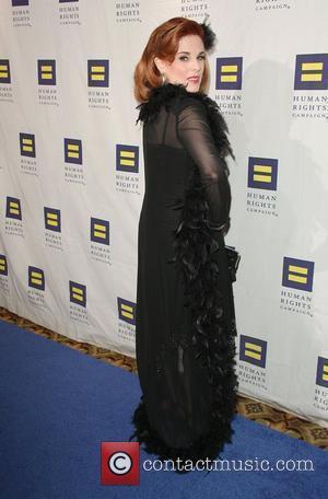 Kat Kramer Human Rights Campaign's annual gala and hero awards held at the Hyatt Regency plaza hotel Los Angeles, California...