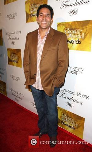 Oscar Nunez Change The World Humanitarian Awards Gala - arrivals Held at The Beverly Hilton Hotel Beverly Hills, California -...