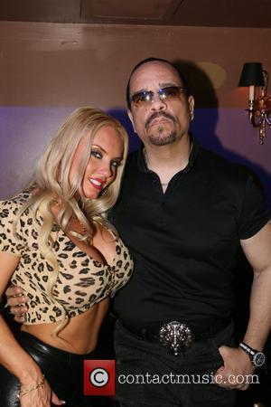 Ice-T and wife Coco aka Nicole Austin at M2 Ultra lounge New York City, USA - 16.04.09