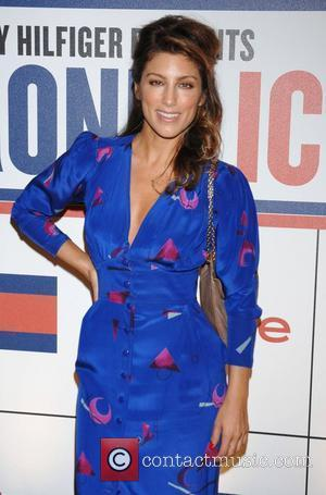 Jennifer Esposito and Tommy Hilfiger