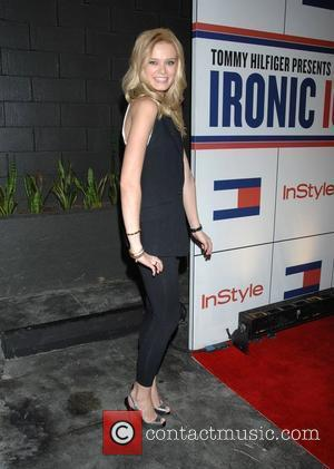 Sara Paxton A celebration of Tommy Hilfiger's 'Ironic Iconic America' hosted by InStyle magazine held at the Thompson hotel Beverly...