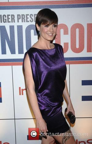 Zoe McLellan A celebration of Tommy Hilfiger's 'Ironic Iconic America' hosted by InStyle magazine held at the Thompson hotel Beverly...