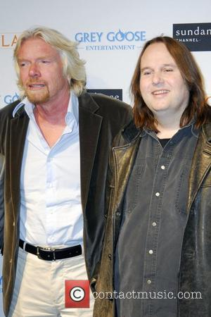 Richard Branson and Bruce Synofski