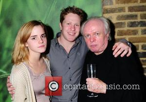 Emma Watson, Tom Attenborough and Director Michael Attenborough attend the 'In a Dark Dark House' Press Night held at the...