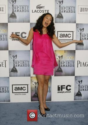 Sandra Oh 2009 Film Independent's Spirit Awards at the Santa Monica Pier - inside arrivals Los Angeles, California - 21.02.09