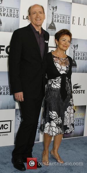Richard Jenkins, Sharon R. Frederick 2009 Film Independent's Spirit Awards at the Santa Monica Pier - inside arrivals Los Angeles,...