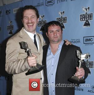 Darren Aronofsky, Scott Franklin 2009 Film Independent's Spirit Awards at the Santa Monica Pier - press room Los Angeles, California...