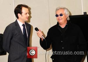 Flavio Briatore  ING Fresh Eyes 2008 Gala Preview of the annual competition bringing Formula One and art together .The...