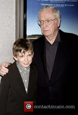 Bill Milner and Sir Michael Caine