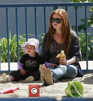 Isla Fisher and Her Daughter Olive Cohen