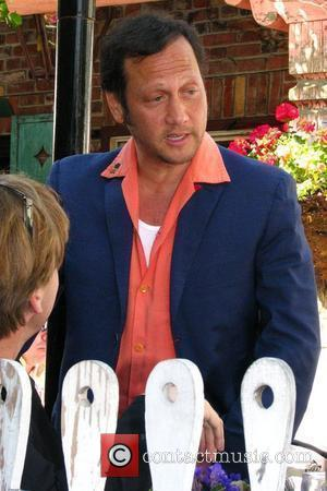 Rob Schneider has lunch at the Ivy restaurant Los Angeles, California - 12.03.09