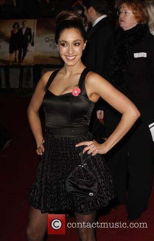 Sophie Hyatt and James Bond