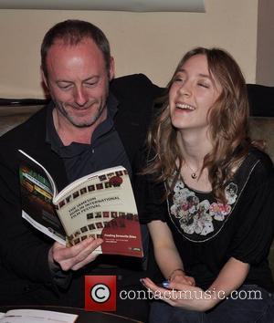 Liam Cunningham and Saoirse Ronan