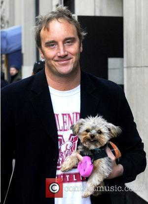 Jay Mohr out and about with his dog New York City, USA - 18.03.09