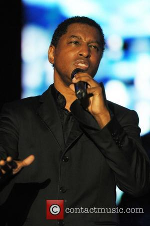 Kenneth 'Babyface' Edmunds performing live 4th Annual 'Jazz in The Gardens' held at the Miami Dolphins Stadium Miami, Florida -...