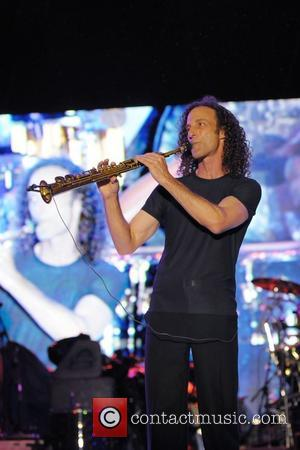 Kenny G  performing live during the 2nd day of the 4th Annual Jazz in The Gardens at the Dolphin...