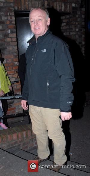 Les Dennis leaving the Empire Theatre after appearing in 'Cinderella' Liverpool, England - 24.12.08