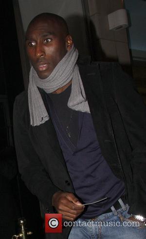 Sol Campbell outside Maya nightclub in Soho London, England - 05.10.08