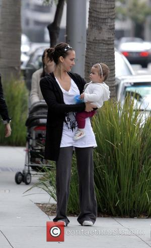 Jessica Alba and Daughter Honor Marie