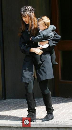 Jessica Alba, Her Daughter Honor Marie Out and About In Manhattan