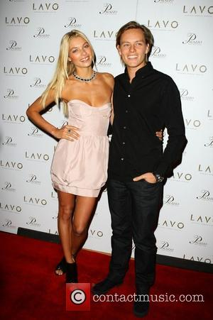 Jessica Hart and Nicolas Potts Sports Illustrated Swimsuit Model Jessica Hart  Hosts Valentine's Day at LAVO at The Palazzo...