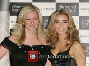 Michelle Mone and Jessica Taylor The launch of Diamond Boutique lingerie at Tesco  London, England - 24.03.09