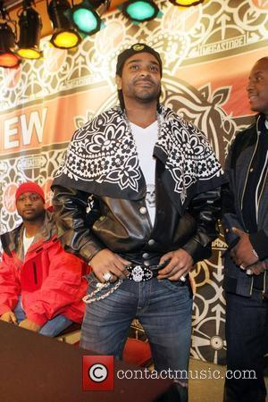 Jim Jones meets fans and signs copies of his new album 'Pray IV Reign' at Virgin Mega-Store Union Square...