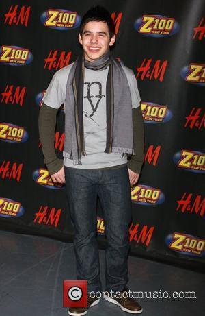 David Archuleta attends Z100's Annual Jingle Ball Concert at Madison Square Gardens - Press Room New York City, USA -...