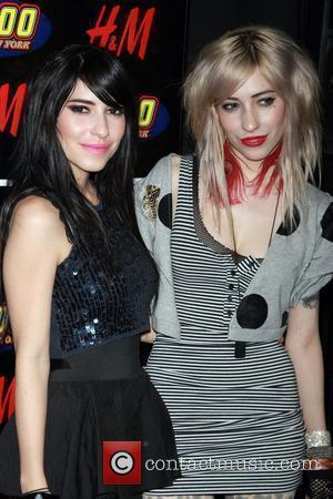 The Veronicas attends Z100's Annual Jingle Ball Concert at Madison Square Gardens - Press Room New York City, USA -...