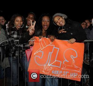 JLS fans JLS appear at Fairfield Halls in Croydon. Before their arrival, several people were injured as a ticketless crowd...