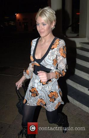Jo O'Meara ventures out for the first time since she left Celebrity Big Brother. She is seen here leaving New...